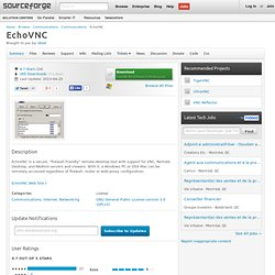 EchoVNC | Download EchoVNC software for free at SourceForge