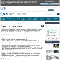 Digital communications - OpenLearn - Open University - T305_1
