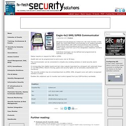Eagle 4x2 SMS/GPRS Communicator - Cellsecure - Hi-Tech Security