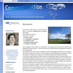 CommUnification: Mon parcours