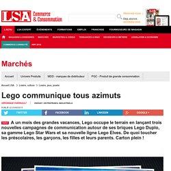 Lego communique tous azimuts - Loisirs, culture