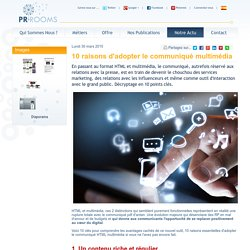 ROOMS - Solutions de relations presse et communication en ligne 2.0