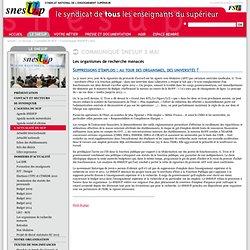 Suppressions d'emplois : au tour des organismes, des universités ?