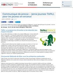 TAPAJ : programme d'insertion et de réduction des risques, pour les jeunes en errance - Fédération Addiction
