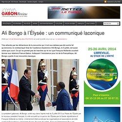 05/07/2012 Ali Bongo (Gabon) à l'Élysée