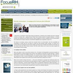 Recruter, communiquer : le couplage print et web pour plus d'efficacité