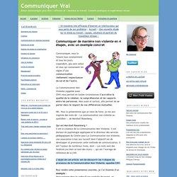 Communiquer de manière non violente en 4 étapes, avec un exemple concret - Communiquer Vrai