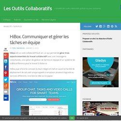 HiBox. Communiquer et gérer les tâches en équipe