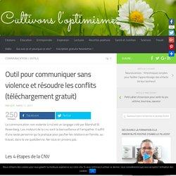 Outil pour communiquer sans violence et résoudre les conflits (téléchargement gratuit)