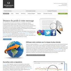 PR Newswire France: Diffusion de communiqués de presse, Veille des médias, Relations Investisseurs