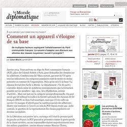 Comment le Parti communiste français s'est éloigné de sa base, par Julian Mischi (Le Monde diplomatique, janvier 2015)