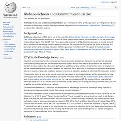 Global e-Schools and Communities Initiative