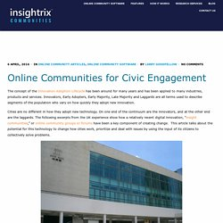 Online Communities for Civic Engagement - Insightrix Communities