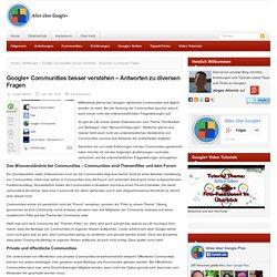 Google+ Communities erklärt