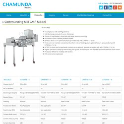 Pharmaceutical Milling Equipment
