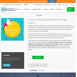 Community Advertisements Plugin – SocialEngineSolutions