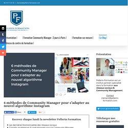 6 méthodes de Community Manager pour s'adapter au nouvel algorithme Instagram