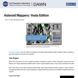 Community > Asteroid Mappers