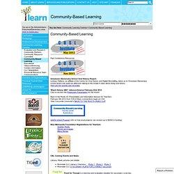 Basado en la Comunidad de Aprendizaje