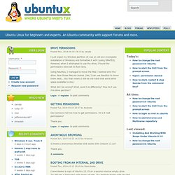 Ubuntu Linux | a community for beginners and experts