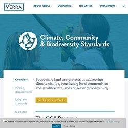 Climate, Community & Biodiversity Standards - Verra