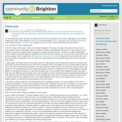 Community@Brighton: 's blog: Crew cuts