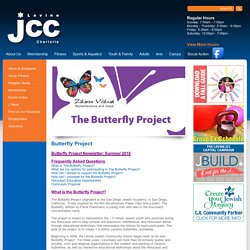 Jewish Community Center of Charlotte, NC - Butterfly Project