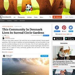 Cette communauté au Danemark vit dans les jardins du cercle surréaliste