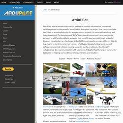 Community: — ArduPilot documentation