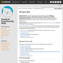 Documentation/Community/Installation/InstallationGuide – Zentyal