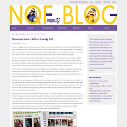 Community Child Care Co-operative » Blog Archive » Documentation – Who is it really for?