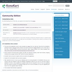 Community Edition « KonaKart – Enterprise Java eCommerce Shopping Cart Software