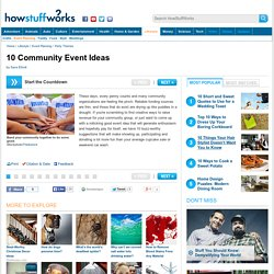10 Community Event Ideas - HowStuffWorks