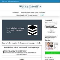 Formation Community Manager & Réseaux Sociaux à Paris - Pellerin
