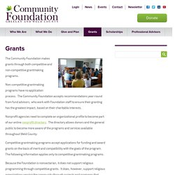 The Community Foundation Serving Greeley and Weld County
