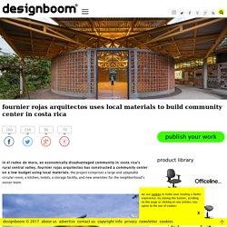 community center in costa rica by fournier rojas arquitectos