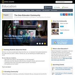 The Geo-Educator Community