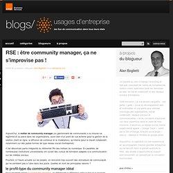 RSE : être community manager, ça ne s'improvise pas !