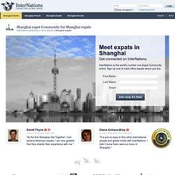 Shanghai Expat Community for Shanghai Expats