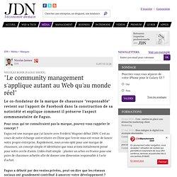 """9/ Nicolas Rohr (Faguo Shoes):""""Le community management s'applique autant au Web qu'au monde réel"""""""