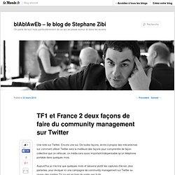 TF1 et France 2 deux façons de faire du community management sur