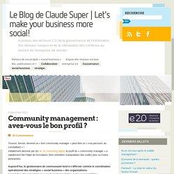 Community management : avez-vous le bon profil