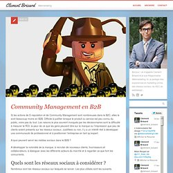 (Article bullshit bingo) Community Management en B2B