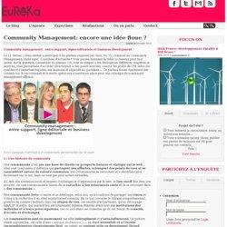Community Management: encore une idée floue ?
