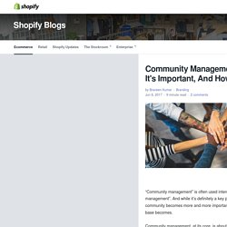 Community Management: What It Is, Why It's Important, And How to Do It