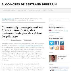 Community management en France : une fusée, des moteurs mais pas