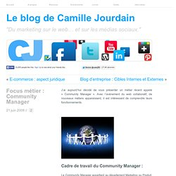 Focus métier : Community Manager | LE MARKETING SUR LE WEB