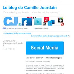 Community Manager, qui es-tu ? | LE MARKETING SUR LE WEB