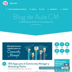 100 Apps para el Community Manager y Marketing Online