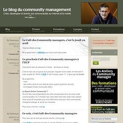 Café Des Community Managers